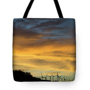 California Windmills Tote Bag