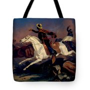 Californians Catching Wild Horses With Riata. Tote Bag