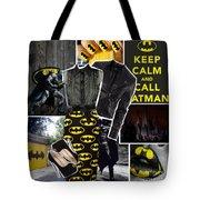 Call Batman Tote Bag