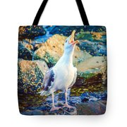Call Of The Gull Tote Bag