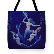 Call Of The Mermaids Tote Bag