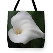 Calla Remembrance Tote Bag