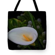 Calla In The Garden II Tote Bag