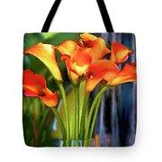 Calla Lilies Bouquet Tote Bag