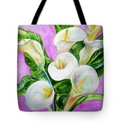 Calla Lillies 3 Tote Bag