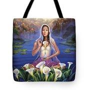 Calla Lily - Be Still Tote Bag