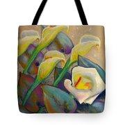 Calla Lily Design Tote Bag