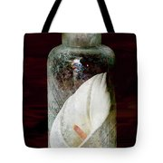 Calla Lily In A Bottle Tote Bag