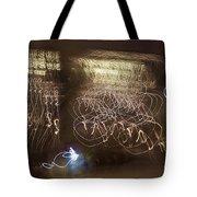 Calligraphic Light Tote Bag