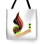 Calligraphy 109 2 Tote Bag