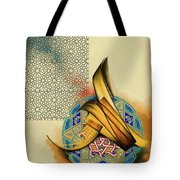 Calligraphy 26 Tote Bag
