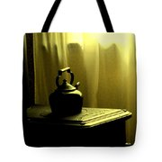Calling The Kettle Black Tote Bag
