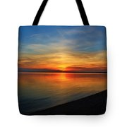 Calm After The Sun Goes Down Tote Bag