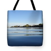 Calm And Tranquil Waters Tote Bag