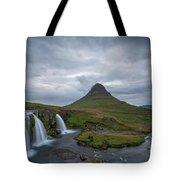 Calm Before The Storm At Kirkjufell Tote Bag