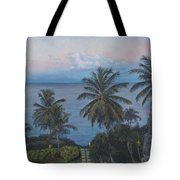 Calm In The Carribean Tote Bag