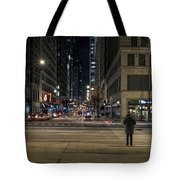 Calm In The Rush Tote Bag