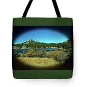 Calm Lake Tote Bag