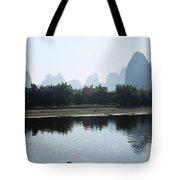 Calm On The Li River Tote Bag by Gloria & Richard Maschmeyer - Printscapes