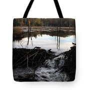Calm Photo Of Water Flowing Tote Bag