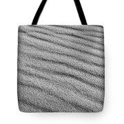 Calm Sands In Monochrome Tote Bag