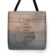 Calm Seas Tote Bag