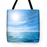 Calm Seascape Tote Bag