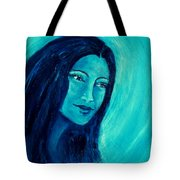 Calming Blues Tote Bag