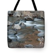 Calming Runnels Tote Bag