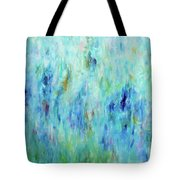 Calming Turquoise Tote Bag