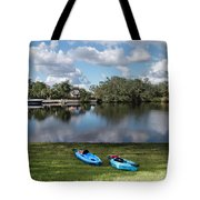 Caloosahatchee Kayaking Tote Bag
