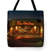 Calories And Caffene Tote Bag