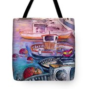 Calpe Harbour 03 Tote Bag