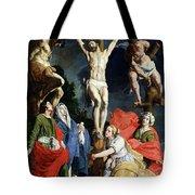 Calvary Tote Bag by Abraham Janssens van Nuyssen