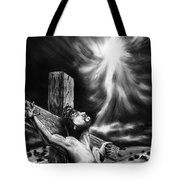 Calvary Tote Bag by Peter Piatt