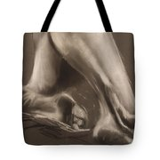 Calves And Feet Tote Bag