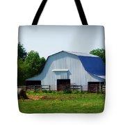 Calvin Road Barn Tote Bag
