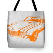 Camaro Tote Bag by Naxart Studio