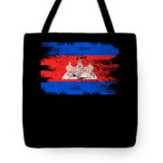 Cambodia Shirt Gift Country Flag Patriotic Travel Asia Light Tote Bag
