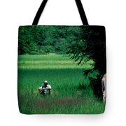 Cambodian Farmer Tote Bag