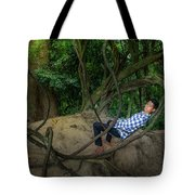Cambodian Jungle Swing Tote Bag