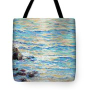 Cambria Rocks Tote Bag