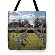 Cambridge American Cemetery Tote Bag