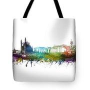 Cambridge Cityscape 01 Tote Bag