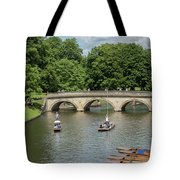 Cambridge Punting On The River Tote Bag