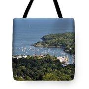 Camden Harbor Maine Tote Bag