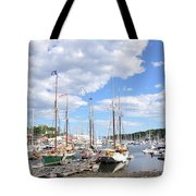 Camden Maine Harbor Tote Bag