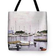 Camden Maine Marina Tote Bag