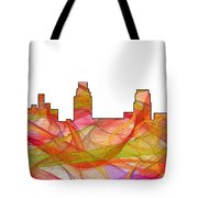Camden Nj Skyline Tote Bag