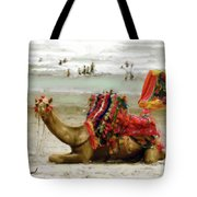 Camel For Ride  Tote Bag